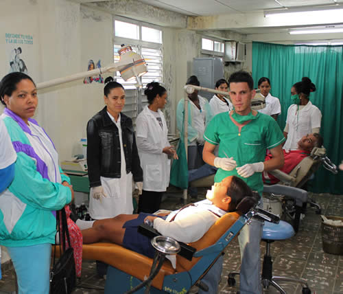 Dental clinic, Palenque, Yateras